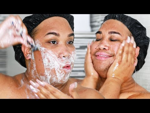 HOW I SHAVE MY FACE FOR PERFECT SKIN | PatrickStarrr