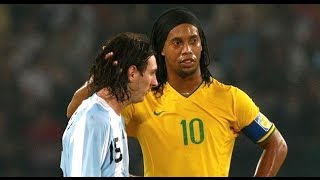 Repeat youtube video Ronaldinho & Messi ● THE MOVIE ●  Two Legends - One Story || HD