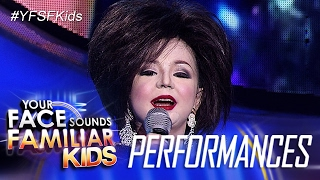 Your Face Sounds Familiar Kids: Xia Vigor as Pilita Corales - Rosas Pandan