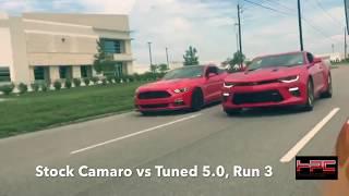 2015 Mustang GT vs. 2016 Camaro SS