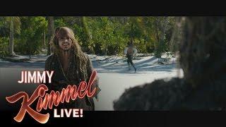 Johnny Depp on Surprising People at Disneyland