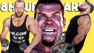 We Worked Out Arms for 8 Hours Straight (RICH PIANA INSPIRED)