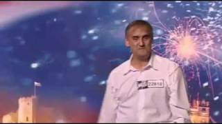 Britains got talent Andy arm waving dance 2009 audition episode