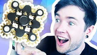 WORLD'S CRAZIEST FIDGET SPINNERS!!!