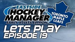 Episode 19 - vs Blackhawks | Eastside Hockey Manager:Early Access 2015 Lets Play