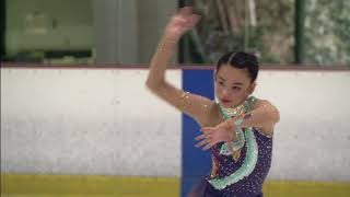KATHERINE ONG Pro Ice Skating Competition 1st Place!!! 7 11 18