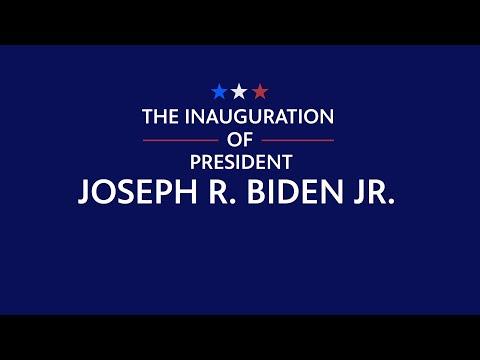 screenshot of youtube video titled PBS NewsHour Inauguration | Promo