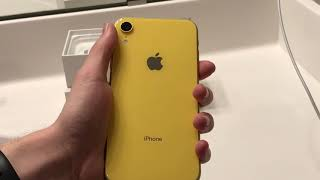 iPhone XR Unboxing, Setup, And First Impressions!!