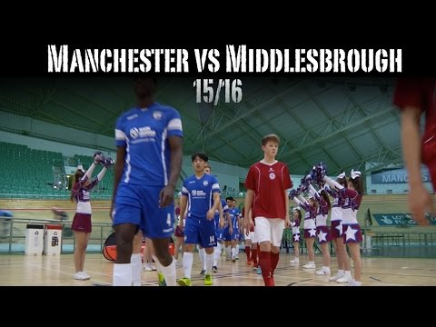 Manchester Futsal Club vs Middlesbrough Futsal Club 15/16