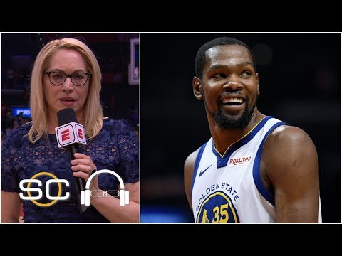 Kevin Durant was going to dominate from the start - Doris Burke | SC with SVP