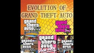 Evolution of Grand Theft Auto 1997- 2018
