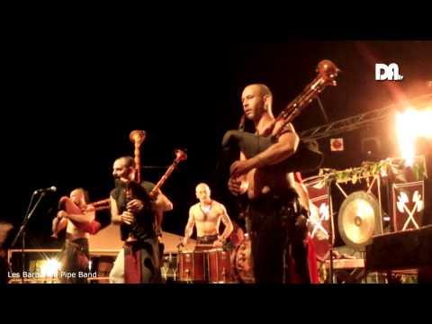 Drôme Ardèche TV - Festival Le Réveil Des Elfes - Barbarian Pipe Band (Partie2)