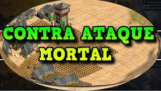 Age of Empires 2 HD Contra Ataque Mortal AoE2HD Gameplay PT BR