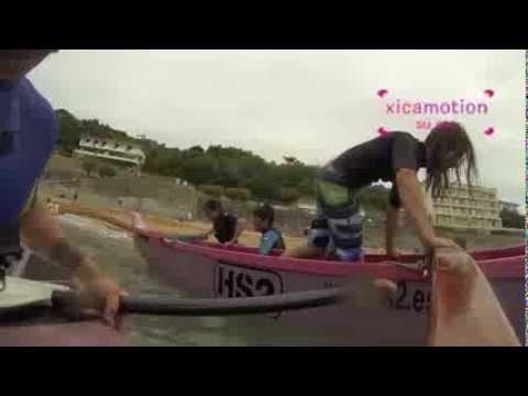 Canoe injury