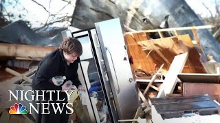 Hurricane Leaves Panama City Residents Desperate To Reunite With Families | NBC Nightly News