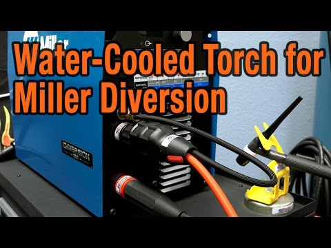 Miller Diversion Water-Cooled Torch Adapter