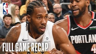 TRAIL BLAZERS vs RAPTORS | Kawhi Leonard Comes Up Clutch For Toronto | March 1, 2019