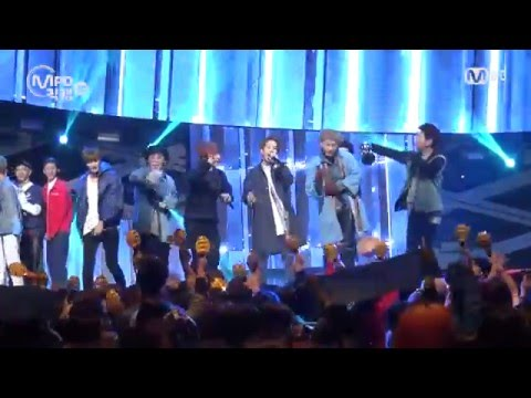 [MPD직캠] 블락비 1위 앵콜 직캠 Toy Block B Fancam No.1 Encore full ver. MNET MCOUNTDOWN 160421