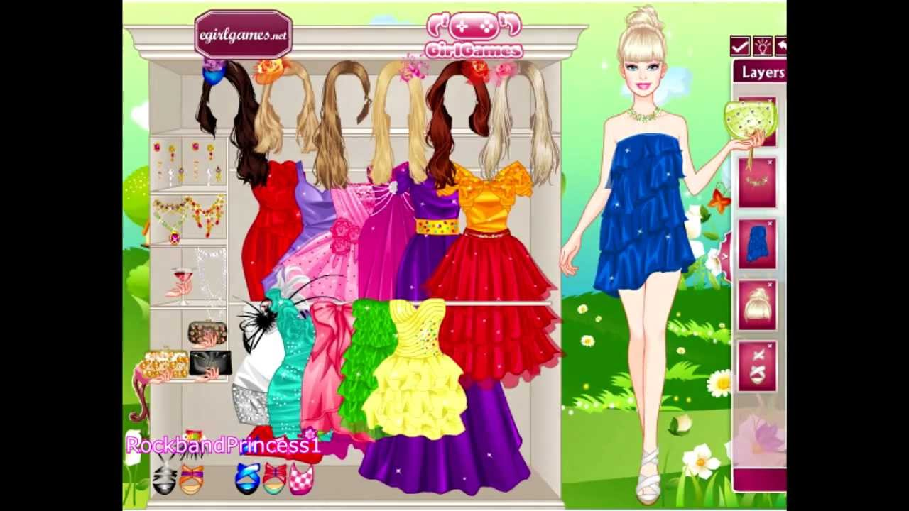 Barbie shopping online games