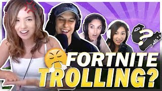 HOW TO TROLL YOUR FRIENDS IN FORTNITE?! Ft. Cizzorz, Valkyrae & Janet!