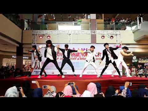 [SINISTER] Nct 127_Firetruck & Cherry bomb cover at Grage city mall, Cirebon 13-08-2017