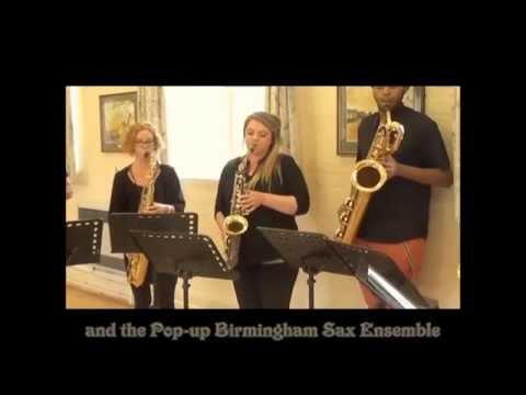Silver Chalice - alto sax solo & sax ensemble