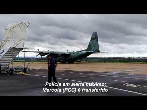 Alerta máximo: Marcola é transferido para presídio federal