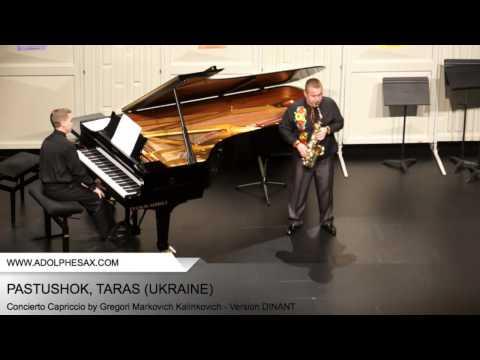 Dinant2014 PASTUSHOK Taras Concierto Capriccio by Gregori Markovich Kalinkovich Version DINANT