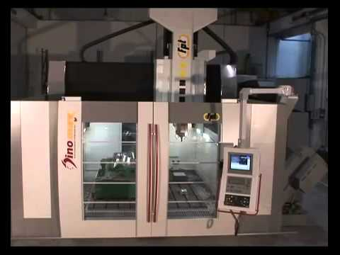 FPT Industries - DINOMAX Moving Bridge For Heavy Duty High-Speed Cutting