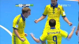 Match 7: Ukraine v Brazil - FIFA Futsal World Cup 2016