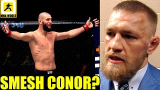 Conor McGregor would end up in a wheelchair for the rest of his life if he fights Khamzat Chimaev,DC