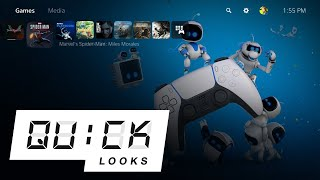 The PlayStation 5 User Experience: Quick Look