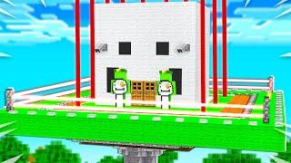 Never Break into Dream's Impossible House! - Minecraft
