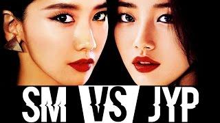 SM Girl Groups VS JYP Girl Groups (Battle Royale)