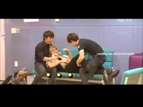 [CUT] leeteuk gets angry with kyuhyun,eunhyuk,and donghae~~~