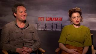 [Interview] Pet Sematary's Jason Clarke and Amy Seimetz On the New Creed Family HD