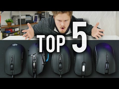 TOP 5 GAMING MICE - 2015 Edition
