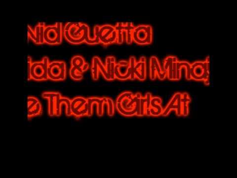 David Guetta feat Flo Rida & Nicki Minaj - Where Them Girls At 2011 Song