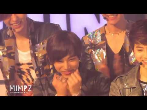 Kai reaction to Taemin's aegyo (Kai fancam show champion)