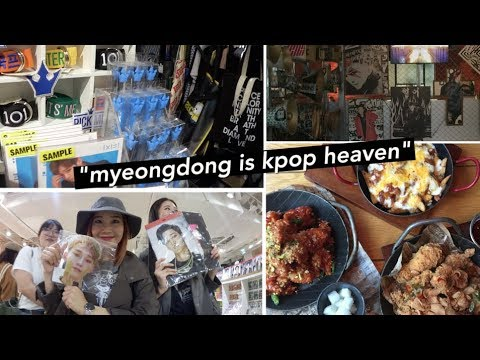 Myeongdong is K-Pop Heaven!