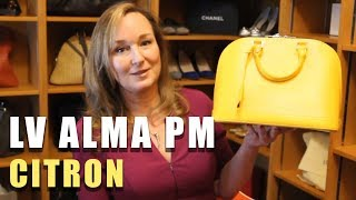 How I Style My Louis Vuitton Alma PM | Jill Maurer