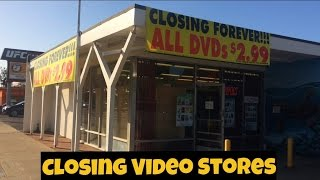 Closing Video Stores