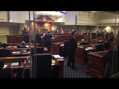 Alabama Senate erupts over stripped abortion amendment