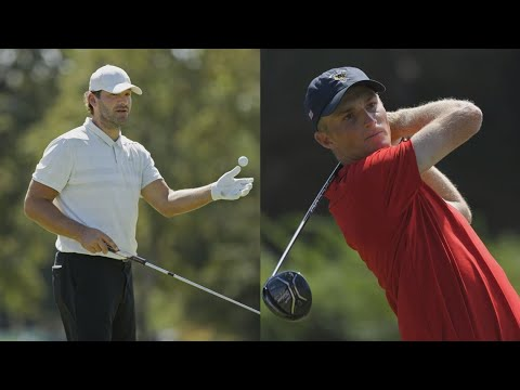 Rising golf star Will Zalatoris and former Cowboys quarterback Tony Romo form unlikely friendship