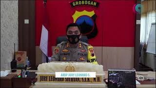 Kapolres Grobogan - AKBP Jury Leonard Siahaan | 19 Tahun Radar Kudus