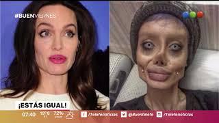 Una iraní se operó 50 veces para parecerse a Angelina Jolie – Buen Telefe