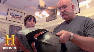 Pawn Stars: How Rare Is This Rare Jousting Helmet? (Season 1) | History