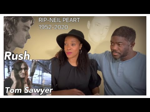 RUSH - TOM SAWYER (REACTION) RIP NEIL PEART