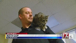 Kitty Cop: Hillsborough officer saves cat, gains feline partner
