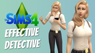 EFFECTIVE DETECTIVE - Sims 4 Get to Work Detective - The Sims 4 Funny Highlights #28